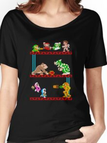 8 Bit Smash Bros. Women's Relaxed Fit T-Shirt