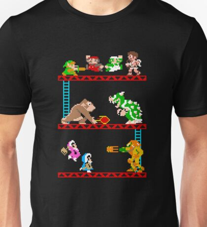 8 Bit Smash Bros. Unisex T-Shirt