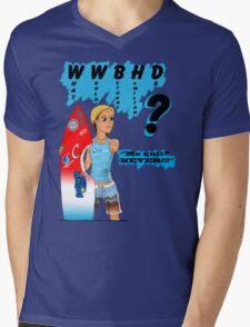 What Would Bethany Hamilton Do? Mens V-Neck T-Shirt