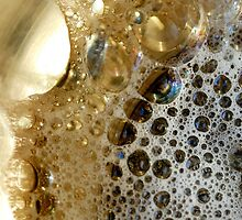 Golden Bubbles by Gisele Bedard