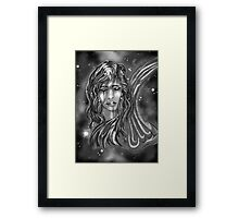"""Celestial Sly: A Wish"" Framed Print"