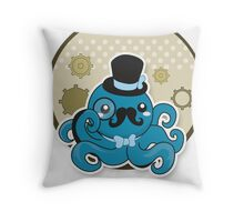 SteamPunk Octopus Throw Pillow