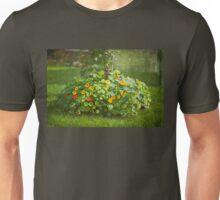 Lush Flower Bed - Nasturtium Unisex T-Shirt