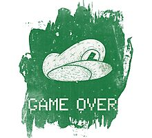 Game Over Luigi Photographic Print