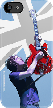 Noel Gallagher - iPhone/iPod Case by projectbebop