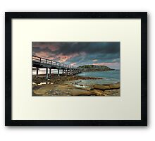 A Bare Sunrise Framed Print