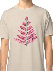 Pink Leaflets Classic T-Shirt