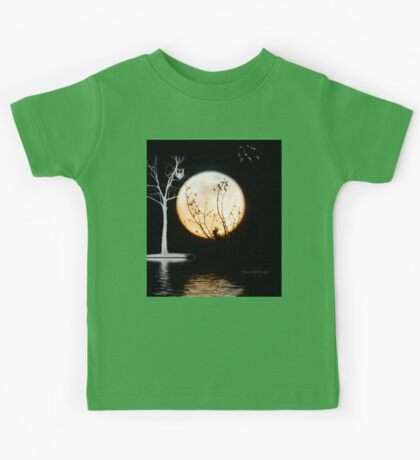 Super Moon Light (T-Shirt) Kids Tee