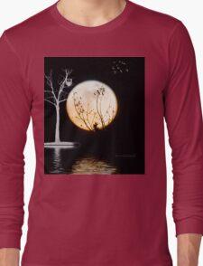 Super Moon Light (T-Shirt) Long Sleeve T-Shirt