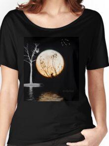 Super Moon Light (T-Shirt) Women's Relaxed Fit T-Shirt