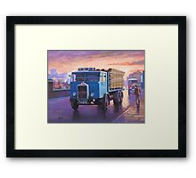Albion six-wheeler 1935 Framed Print