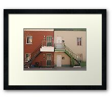 a dream place Framed Print