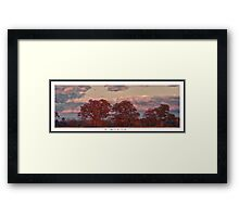 Coming of The Storm Framed Print