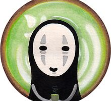 No Face Green Tea by Aillen Joyce Abelita