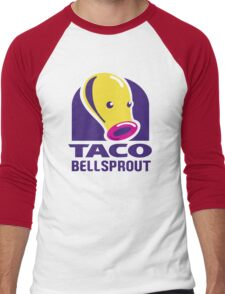 Taco Bellsprout Men's Baseball ¾ T-Shirt