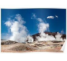 Sol del Manana, Bolivia Poster