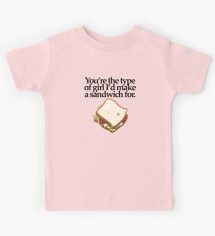 SANDWICH  for GIRL (LIGHT) Kids Tee