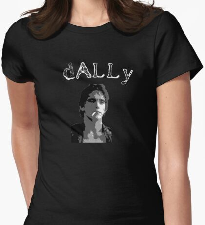 """The Outsiders Dallas """"Dally"""" Winston Greaser Womens Fitted T-Shirt"""