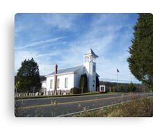 Mount Hermon United Methodist Church Canvas Print