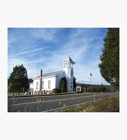 Mount Hermon United Methodist Church Photographic Print