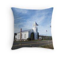Mount Hermon United Methodist Church Throw Pillow