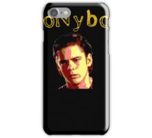 Pony boy Curtis Greaser iPhone Case/Skin