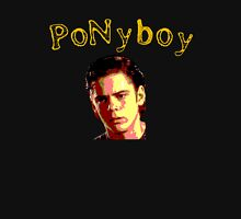 Pony boy Curtis Greaser Womens Fitted T-Shirt