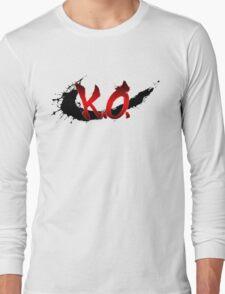 Street Fighter K.O. Long Sleeve T-Shirt
