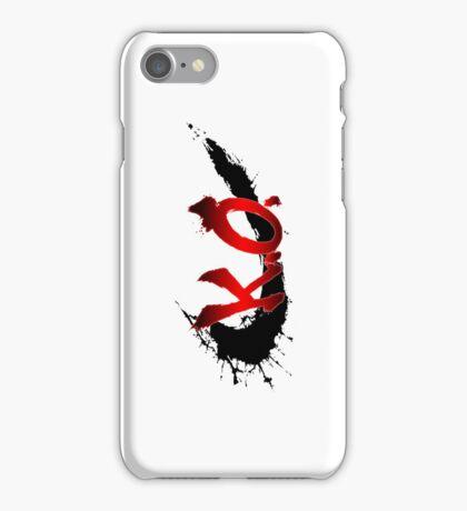Street Fighter K.O. iPhone Case/Skin