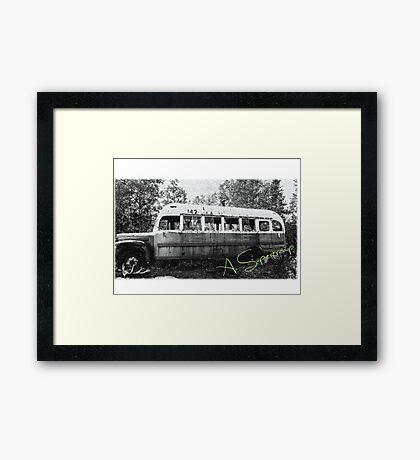 Magic bus Framed Print