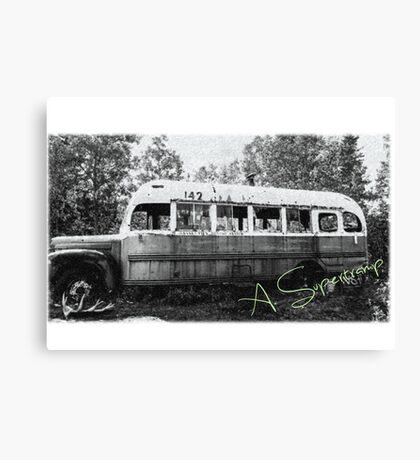Magic bus Canvas Print