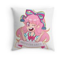 GIFfany Throw Pillow