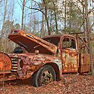 Old Ford F4 Tow Truck by JGetsinger