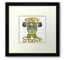 SHORT'N STACK'D Framed Print