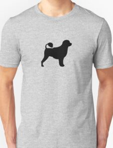 Portuguese Water Dog Silhouette(s) T-Shirt