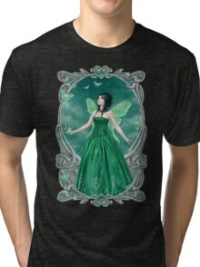 Emerald Birthstone Fairy Tri-blend T-Shirt