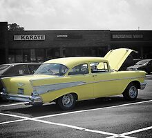 Yellow '57 Chevy by James Brotherton