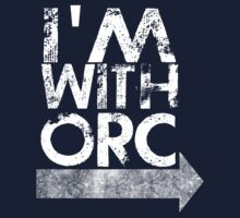 I'm with orc [white] Kids Clothes