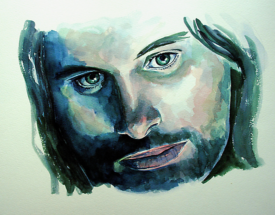 Viggo Mortensen,  featured in Art Universe by FDugourdCaput