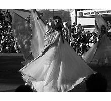 Dancing Filipina, Black and White Photographic Print