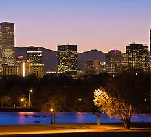 Denver Skyline - City Park View by Gregory Ballos | gregoryballosphoto.com