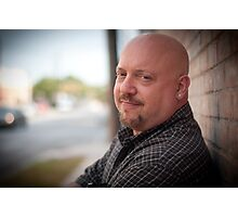 Guitar man RO Photographic Print