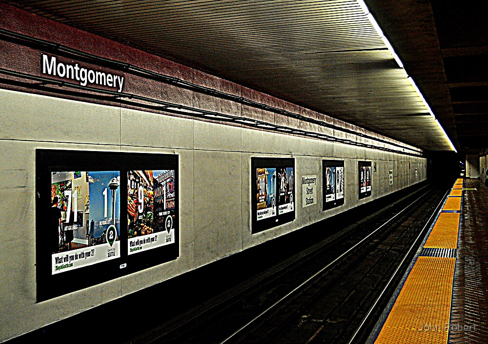 Montgomery BART... to infinity by Bob Moore