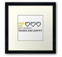 Empty Heart Framed Print