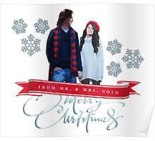 Merry Christmas from the Golds! Poster