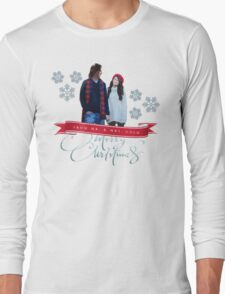 Merry Christmas from the Golds! Long Sleeve T-Shirt