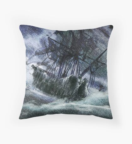 Perfect Storm Throw Pillow