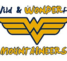 Wild & WONDERful WVU by jredthered