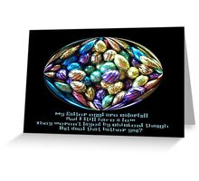 My Easter Eggs Greeting Card