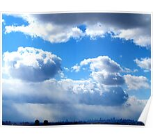 Clouds, New York City Poster